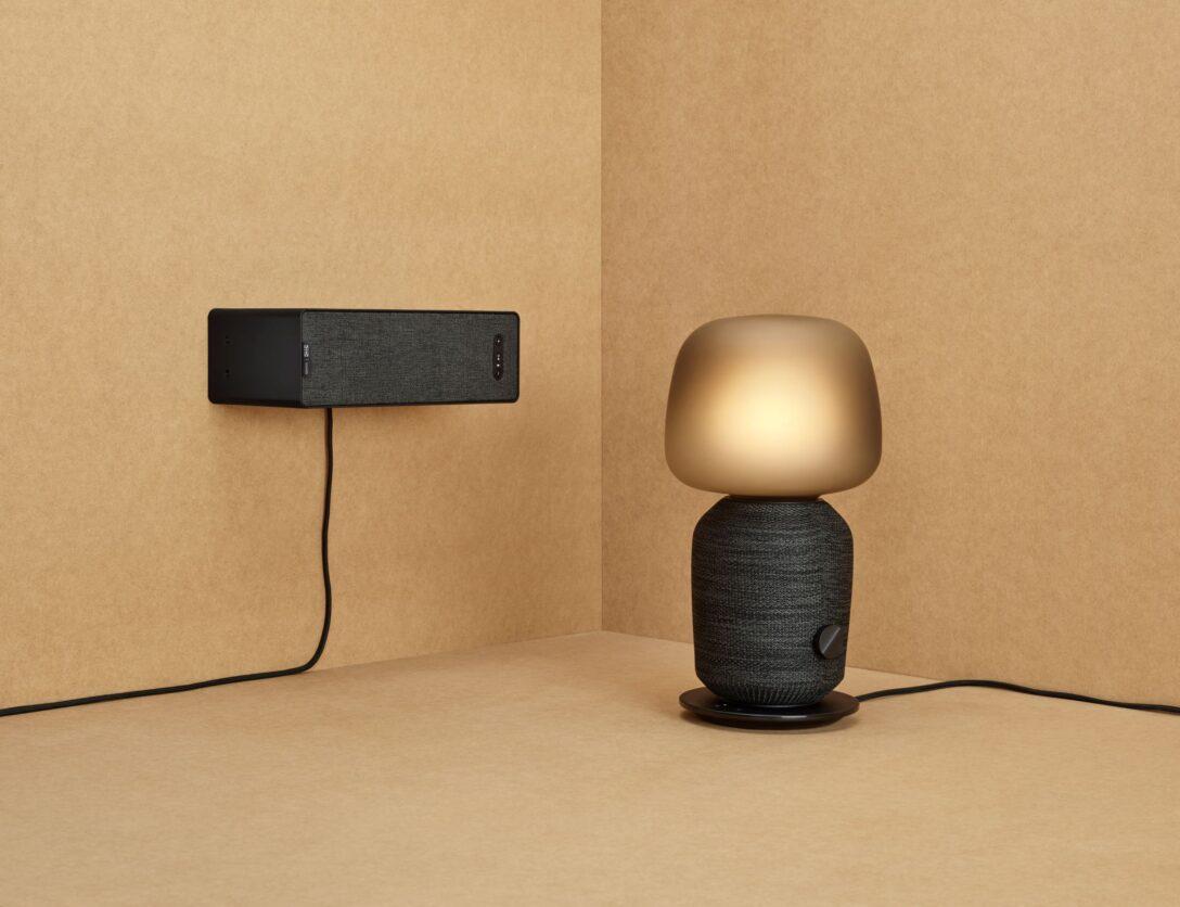 Large Size of Ikea Wohnzimmer Lampen Lampenschirm Lampe Leuchten Mit Sonos Symfonisk Bringt Licht Und Ton Ins Vorhänge Decke Led Komplett Esstisch Badezimmer Deckenlampe Wohnzimmer Ikea Wohnzimmer Lampe