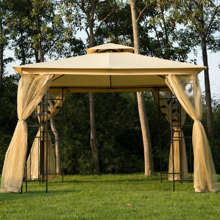 Medium Size of Pavillon Terrasse Bauhaus Terrassen Winterfest Test Garten Living 300 Cm Villanueva Aus Wohnzimmer Terrassen Pavillon