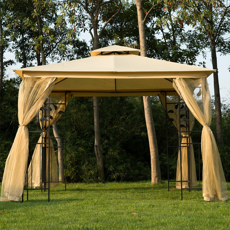 Full Size of Pavillon Terrasse Bauhaus Terrassen Winterfest Test Garten Living 300 Cm Villanueva Aus Wohnzimmer Terrassen Pavillon