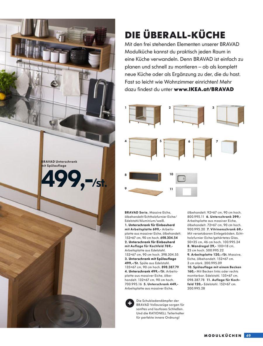 Full Size of Seite 47 Von Kchen 2009 Betten Ikea 160x200 Küche Kosten Modulküche Kaufen Miniküche Sofa Mit Schlaffunktion Bei Holz Wohnzimmer Ikea Modulküche Bravad