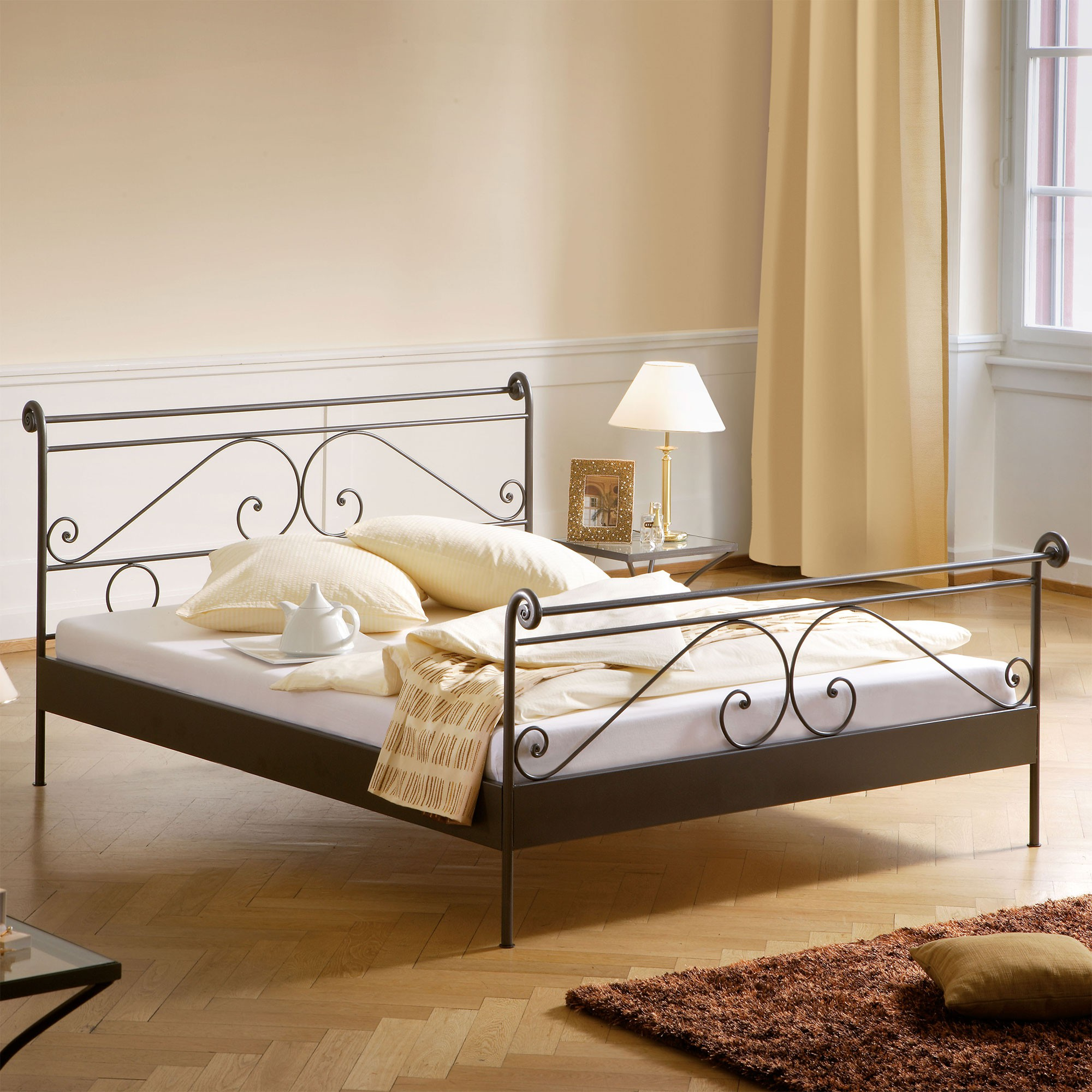 Full Size of Hasena Selection And Romantic Metallbett Cerete Online Kaufen Belama Bett Weiß 100x200 Betten Wohnzimmer Metallbett 100x200