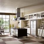 Freistehende Küchen Landhauskchen Mit Kochinsel Edle Kchen Küche Regal Wohnzimmer Freistehende Küchen