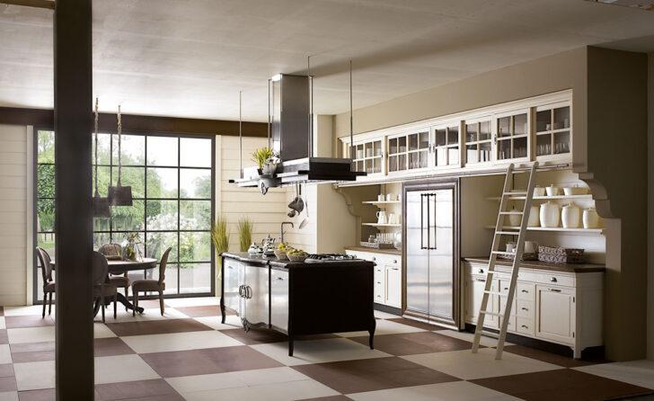 Medium Size of Freistehende Küchen Landhauskchen Mit Kochinsel Edle Kchen Küche Regal Wohnzimmer Freistehende Küchen