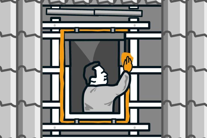 Medium Size of Dachfenster Einbauen Innenfutter Velux Deutsch Preis Innenverkleidung Kosten Zwischen Dachsparren Anleitung Von Hornbach Bodengleiche Dusche Fenster Wohnzimmer Dachfenster Einbauen