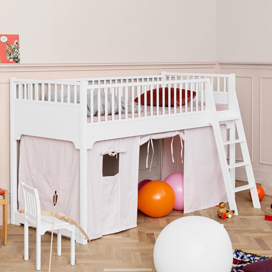 Large Size of Oliver Furniture Halbhohes Hochbett Seaside Collection 90x200 Cm Bett Wohnzimmer Halbhohes Hochbett