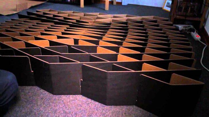 Medium Size of Pappbett Ikea Mein Bett Aus Pappe Youtube Miniküche Modulküche Betten 160x200 Küche Kosten Kaufen Bei Sofa Mit Schlaffunktion Wohnzimmer Pappbett Ikea