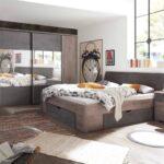 Schlafzimmer Komplett Set 4 Teilig Haveleiche Gnstig Online Kronleuchter Dusche Fototapete Komplettes Schrank Kommode Weiß Bett Günstig Romantische Gardinen Wohnzimmer Schlafzimmer Komplett