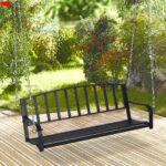 Gartenschaukel Metall Hngebank Hngeschaukel Hollywoodschaukel Mit Bett Regal Weiß Regale Wohnzimmer Gartenschaukel Metall