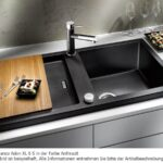 Blanco Adon Xl 6 S Alumetallic Granit Sple Grau Kchensple Küche Rustikal Einbauküche Mit Elektrogeräten Ohne Elektrogeräte Sockelblende Armaturen Rollwagen Wohnzimmer Spülbecken Küche Granit
