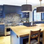Küche Blau Grau Wie Dekorieren In Xxl Sofa Waschbecken Gardinen Für Oberschrank Kreidetafel Hängeschränke Billig Kaufen Freistehende Theke Ikea Kosten Wohnzimmer Küche Blau Grau