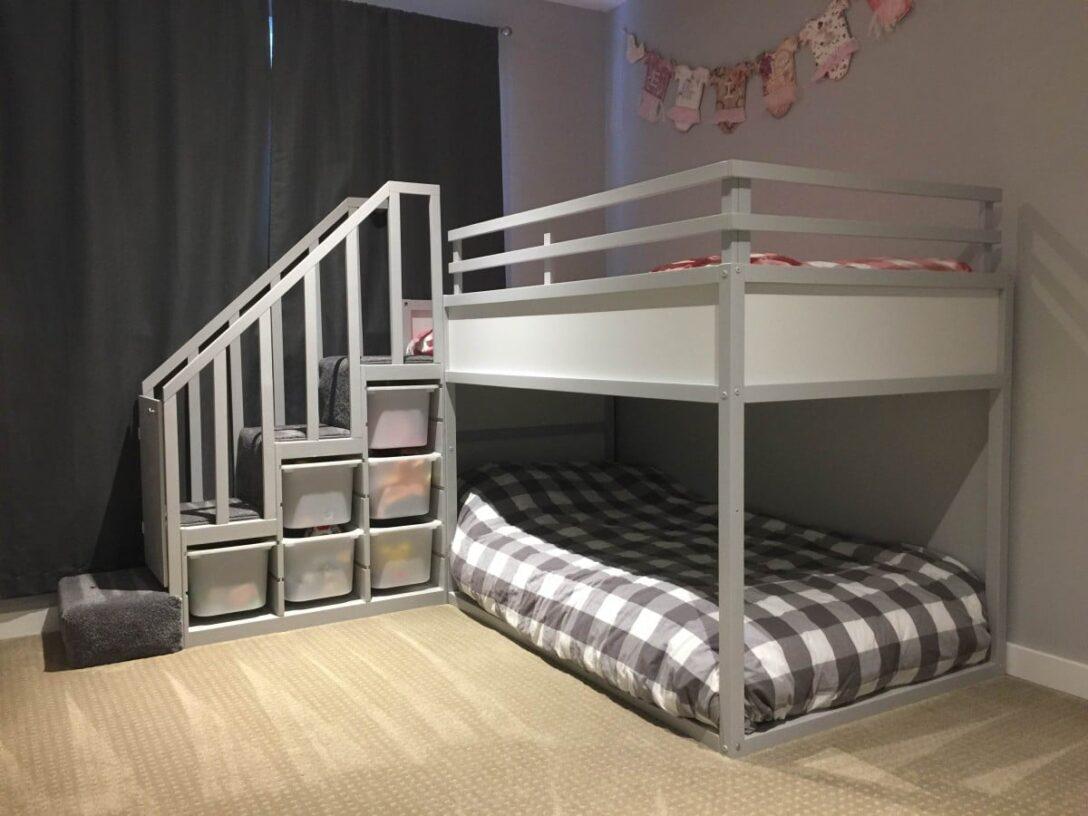 Large Size of Ikea Kura Hack Floor Bed Storage Drawers Montessori Bunk For Two Toddlers Hackers Wohnzimmer Kura Hack