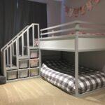 Ikea Kura Hack Floor Bed Storage Drawers Montessori Bunk For Two Toddlers Hackers Wohnzimmer Kura Hack
