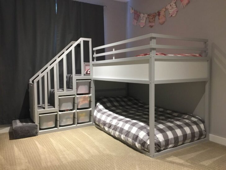 Medium Size of Ikea Kura Hack Floor Bed Storage Drawers Montessori Bunk For Two Toddlers Hackers Wohnzimmer Kura Hack