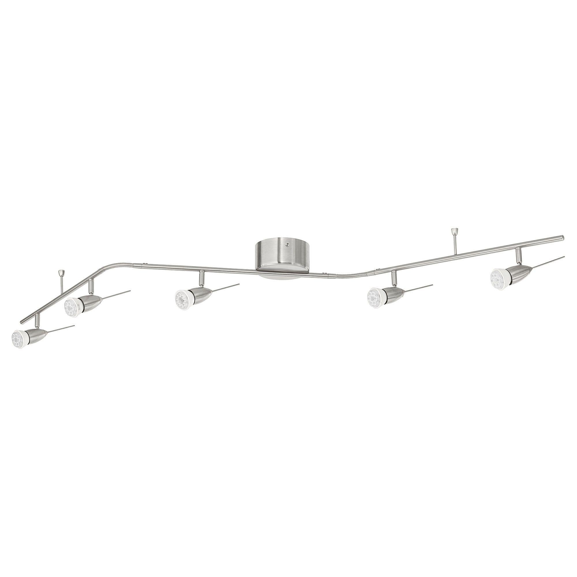 Full Size of Husinge Deckenschiene 5 Spots Vernickelt Led Lampe Ikea Miniküche Modulküche Betten Bei Sofa Mit Schlaffunktion Küche Kosten Wohnzimmer Deckenlampen Für Wohnzimmer Ikea Deckenlampen