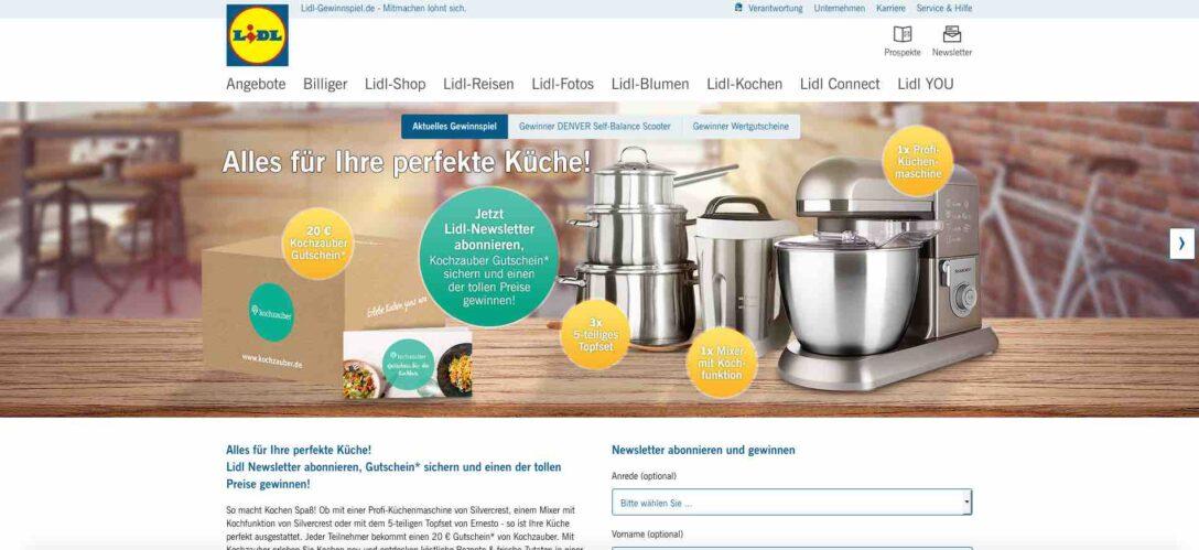 Large Size of Lidl Küchen Silvercrest Gewinnspiel Von Tolle Artikel Fr Kche Regal Wohnzimmer Lidl Küchen