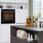 Interliving Kche Serie 3011 Kombiniert Moderne Eleganz Küche Mit Elektrogeräten Günstig Aufbewahrung Kleine Einbauküche Laminat In Der Betten Weiß Wohnzimmer Küche Weiß Anthrazit
