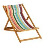 Liegestuhl Auflage Wetterfest Klappbar Balkon Garten Holz Weishupl Cabin Deck Chair Basic Ambientedirect Wohnzimmer Liegestuhl Wetterfest