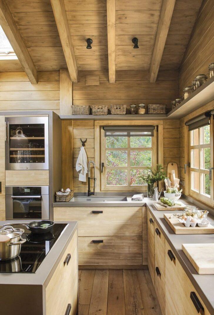Medium Size of Küchen Rustikal Eine Traumhtte Auf Dem Spanischen Berg Planete Deco Hat Esstisch Rustikales Bett Holz Regal Küche Rustikaler Wohnzimmer Küchen Rustikal
