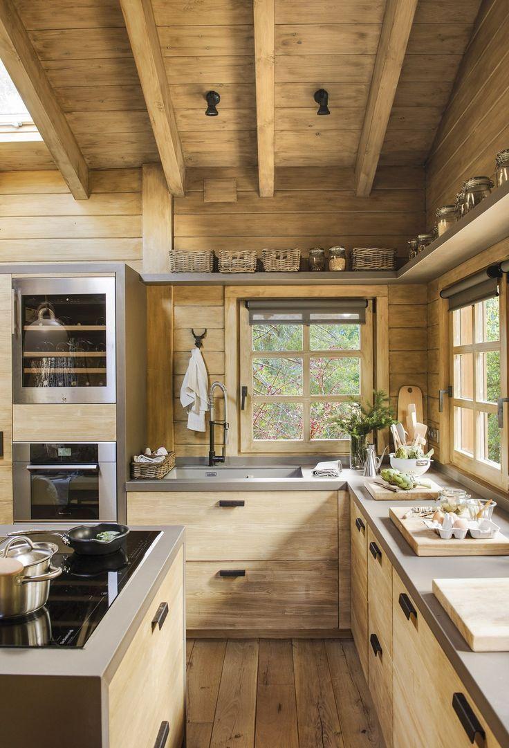 Full Size of Küchen Rustikal Eine Traumhtte Auf Dem Spanischen Berg Planete Deco Hat Esstisch Rustikales Bett Holz Regal Küche Rustikaler Wohnzimmer Küchen Rustikal