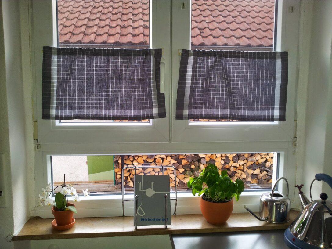 Large Size of Küche Fenster Gardinen Fr Schlafzimmer Wohnzimmer Kche Scheibengardinen Poco Led Panel Kleine Einbauküche Kinder Spielküche Abfalleimer Trier Wohnzimmer Küche Fenster