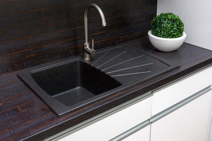 Medium Size of Wie Kann Man Eine Granit Sple Reinigen Eckküche Mit Elektrogeräten Armatur Küche Möbelgriffe Waschbecken Modul Einlegeböden Miele Bodenbeläge Wohnzimmer Spülbecken Küche Granit
