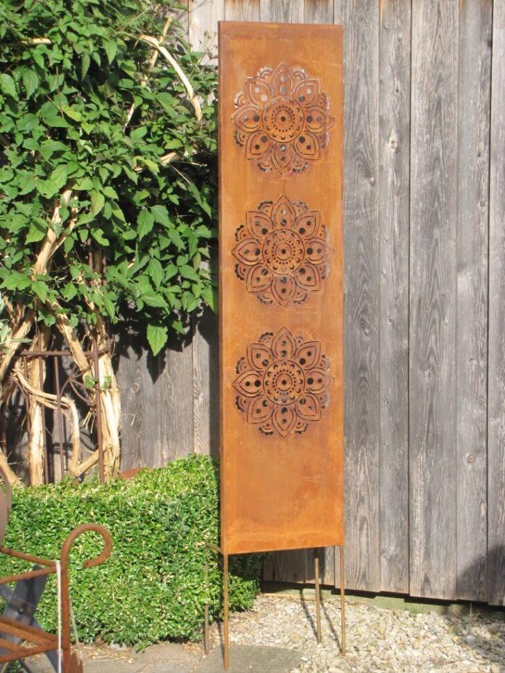 Medium Size of Paravent Für Garten Edelrost Sichtschutz Mandala Angels Garden Dekoshop Loungemöbel Günstig Holzhäuser Tagesdecken Betten Bewässerung Lounge Möbel Wohnzimmer Paravent Für Garten