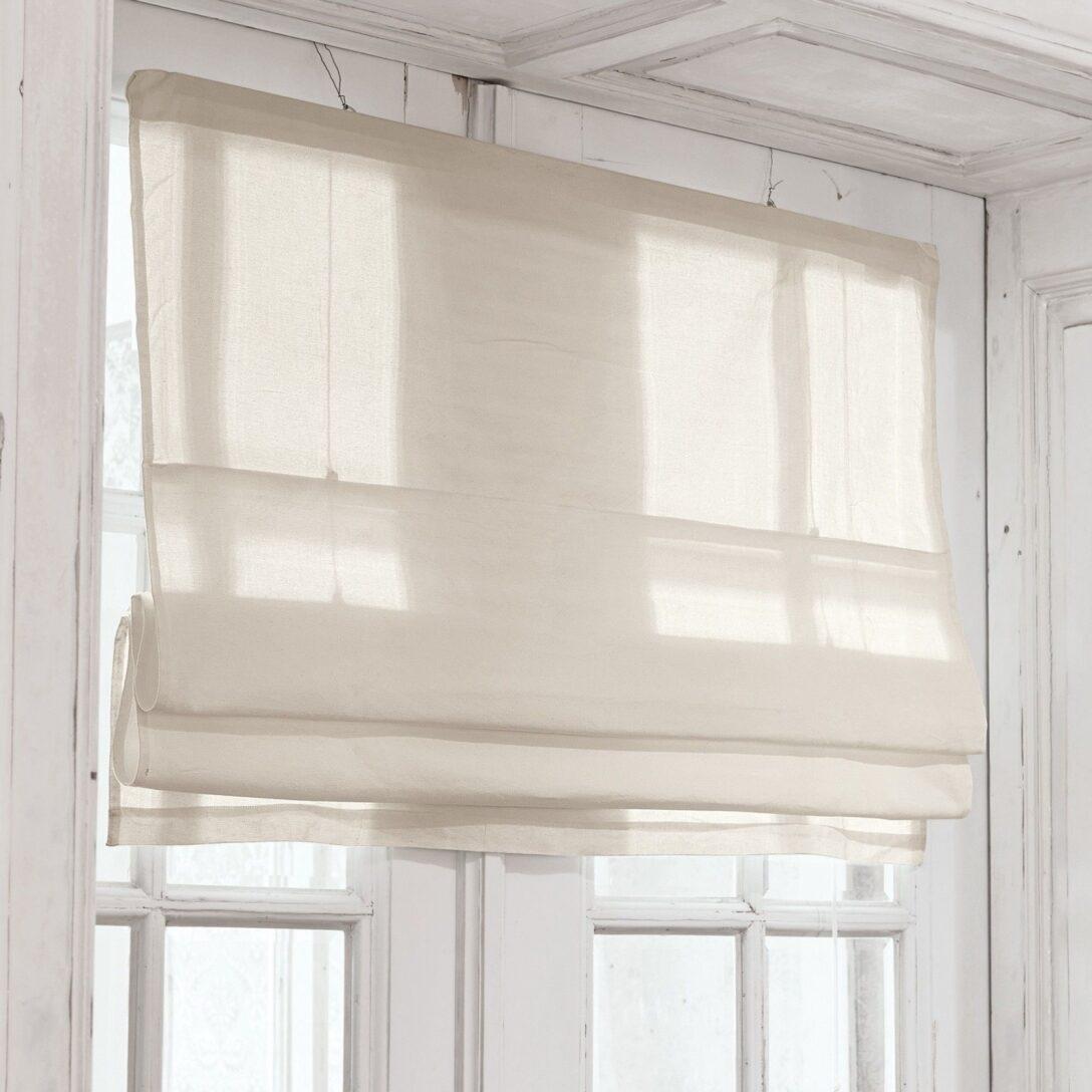 Large Size of Fensterdekoration Küche Faltrollo Fides Loberon Coming Home Fenster Dekor Mischbatterie Schwingtür Wandtatoo Sideboard Mit Arbeitsplatte Ikea Kosten Geräten Wohnzimmer Fensterdekoration Küche