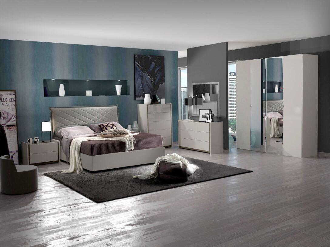 Large Size of Schlafzimmer Set Valencia Modern 180x200 Cm Mit Schrank 4 Trig Romantische Bett Komplett Lattenrost Und Matratze Wohnzimmer Weiß Eckschrank Günstig Regal Wohnzimmer Schlafzimmer Komplett Modern