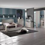 Schlafzimmer Set Valencia Modern 180x200 Cm Mit Schrank 4 Trig Romantische Bett Komplett Lattenrost Und Matratze Wohnzimmer Weiß Eckschrank Günstig Regal Wohnzimmer Schlafzimmer Komplett Modern