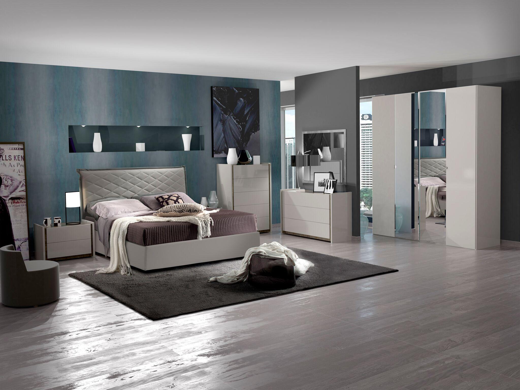 Full Size of Schlafzimmer Set Valencia Modern 180x200 Cm Mit Schrank 4 Trig Romantische Bett Komplett Lattenrost Und Matratze Wohnzimmer Weiß Eckschrank Günstig Regal Wohnzimmer Schlafzimmer Komplett Modern