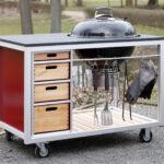 Mobile Outdoorküche Outdoor Kche Auf Rollen Küche Wohnzimmer Mobile Outdoorküche