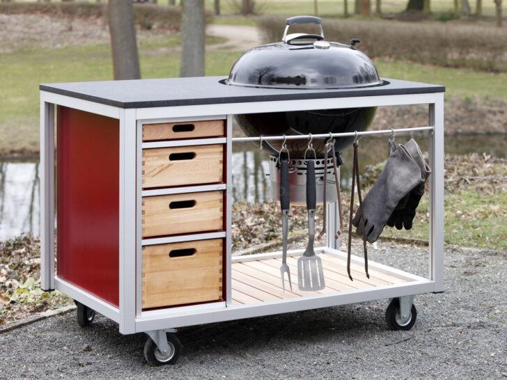 Medium Size of Mobile Outdoorküche Outdoor Kche Auf Rollen Küche Wohnzimmer Mobile Outdoorküche