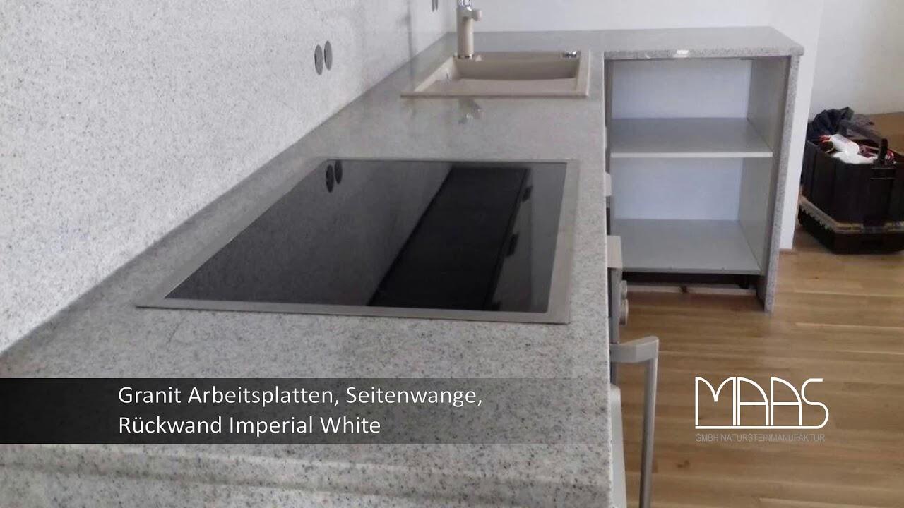 Full Size of Frankfurt Am Main Imperial White Granit Arbeitsplatten Granitplatten Küche Arbeitsplatte Sideboard Mit Wohnzimmer Granit Arbeitsplatte