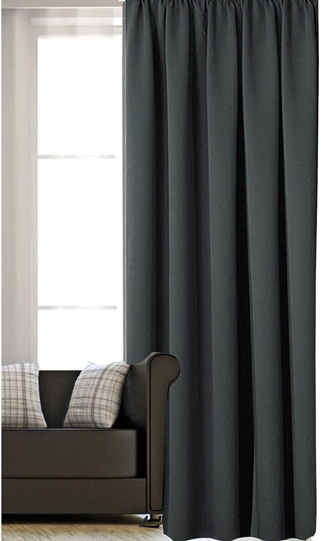 Medium Size of Vorhänge Schiene Amazonde Jemidi Vorhang Mit Kruselband Fr Küche Schlafzimmer Wohnzimmer Wohnzimmer Vorhänge Schiene
