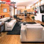 Holzküche Mit Holzboden Wohnzimmer Kche In Einem Offene Wohnbereiche Holzkche Singleküche E Geräten Schlafzimmer Set Matratze Und Lattenrost Bett Wohnzimmer Holzküche Mit Holzboden