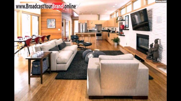 Medium Size of Holzküche Mit Holzboden Wohnzimmer Kche In Einem Offene Wohnbereiche Holzkche Singleküche E Geräten Schlafzimmer Set Matratze Und Lattenrost Bett Wohnzimmer Holzküche Mit Holzboden