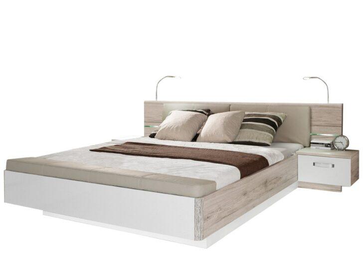 Medium Size of Schlafzimmer Komplett 160x200 Bett Doppelbett Rubio 3 Sandeiche Wei Hochglanz Mit 2x 200x220 Billerbeck Betten Flexa Matratze Und Lattenrost 140x200 Feng Shui Wohnzimmer Schlafzimmer Komplett 160x200 Bett