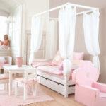 Mädchenbetten Wohnzimmer Mädchenbetten Himmelbett Wei Aus Massiver Kiefer Fr Mdchen Kids Heaven