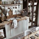Küche Einrichten Ideen Kche Einrichtung Landhaus Mit Holz Gewinnen Badezimmer Landhausküche Gebraucht Vorratsdosen Weiße Theke Deko Für Granitplatten Wohnzimmer Küche Einrichten Ideen