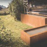 Holzlege Cortenstahl Hochwertige Gartenobjekte Bequem Online Bestellen Wohnzimmer Holzlege Cortenstahl