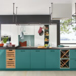 Moderne Kcheninsel In Grn Küchen Regal Wohnzimmer Ballerina Küchen