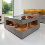 Hängeregal Kücheninsel Eine Moderne Kochinsel Fr Luxurise Kchen Küche Wohnzimmer Hängeregal Kücheninsel