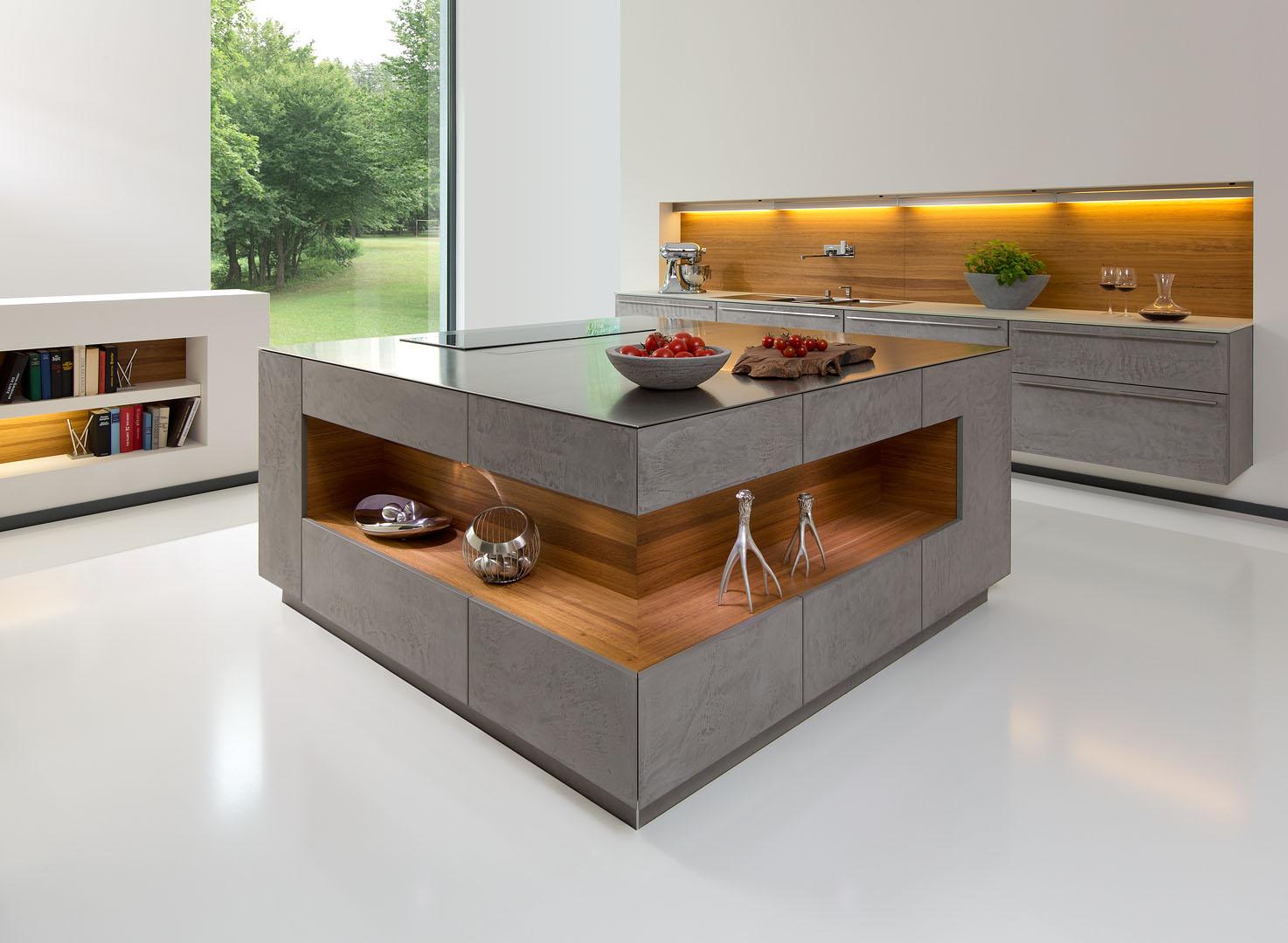 Full Size of Hängeregal Kücheninsel Eine Moderne Kochinsel Fr Luxurise Kchen Küche Wohnzimmer Hängeregal Kücheninsel