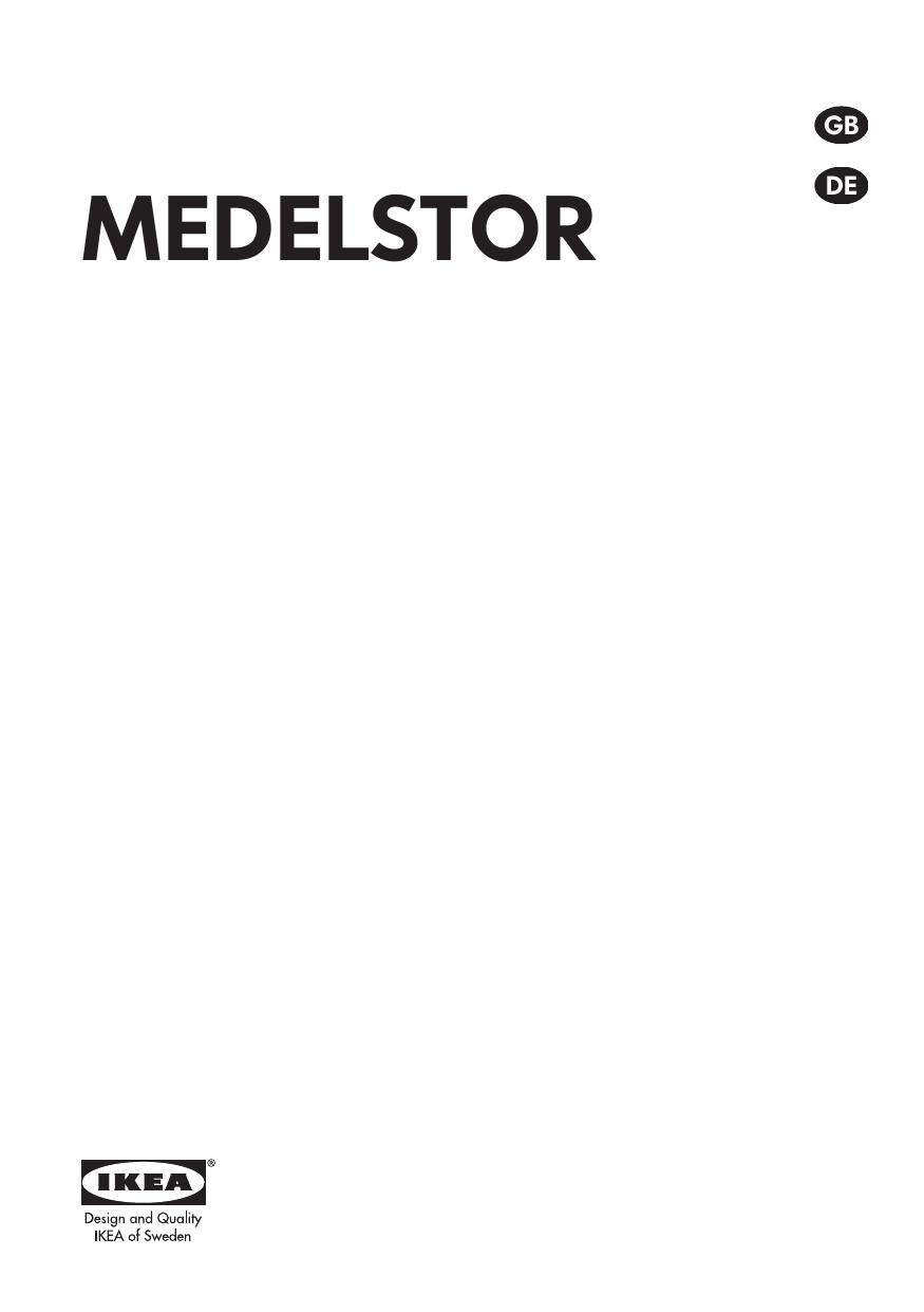 Full Size of Ikea Medelstor 20385799 User Manual Küche Kaufen Kosten Sofa Mit Schlaffunktion Betten 160x200 Bei Modulküche Miniküche Abfallbehälter Wohnzimmer Abfallbehälter Ikea