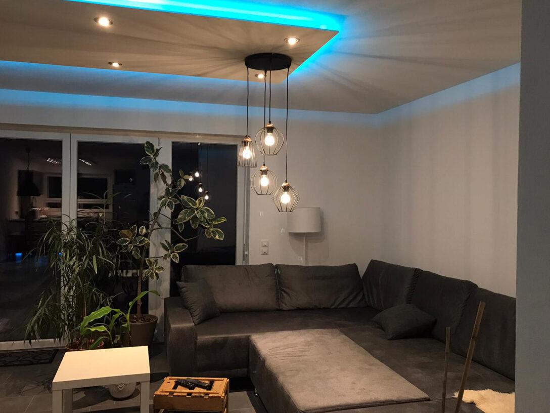 Large Size of Lisego Deckensegel Saubere Alternative Zur Abgehngten Decke Stehlampen Wohnzimmer Deckenlampen Für Led Deckenleuchte Lampe Badezimmer Großes Bild Bad Wohnzimmer Decke Beleuchtung Wohnzimmer Ideen
