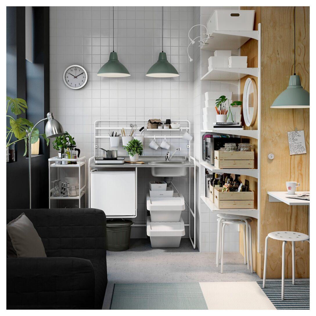 Large Size of Single Küche Ikea Sunnersta Minikche Jetzt Informieren Deutschland Selbst Zusammenstellen Waschbecken Grillplatte Vorhänge Singleküche Mit Kühlschrank Wohnzimmer Single Küche Ikea