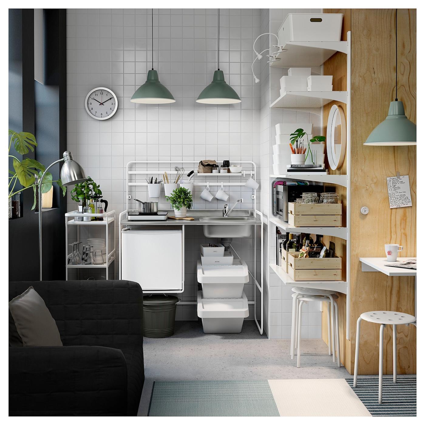 Full Size of Single Küche Ikea Sunnersta Minikche Jetzt Informieren Deutschland Selbst Zusammenstellen Waschbecken Grillplatte Vorhänge Singleküche Mit Kühlschrank Wohnzimmer Single Küche Ikea