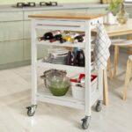 Küchenwagen Servierwagen Sobuy Garten Küche Wohnzimmer Küchenwagen Servierwagen