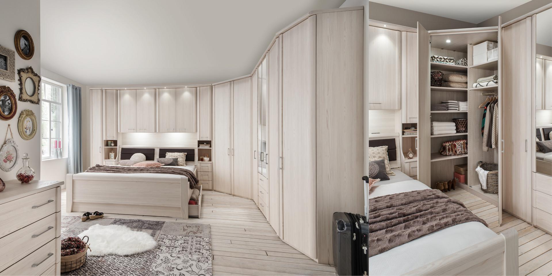 Full Size of überbau Schlafzimmer Modern Erleben Sie Das Luxor 3 4 Mbelhersteller Wiemann Mit Set Boxspringbett Moderne Esstische Tapete Küche Matratze Und Lattenrost Wohnzimmer überbau Schlafzimmer Modern