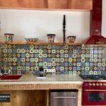 Fliesenspiegel Landhausküche In Der Kche Ideen Mit Patchwork Mustern Von Weisse Moderne Küche Weiß Gebraucht Grau Glas Selber Machen Wohnzimmer Fliesenspiegel Landhausküche